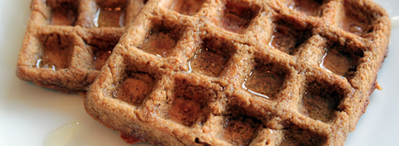 High-Protein Oat Waffles