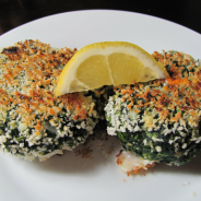 Spinach Barleycakes