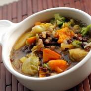 Aduki Beans & Squash Stew
